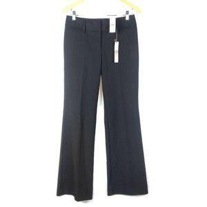 Ann Taylor Loft Julie Trouser Pants Womens 2 Black